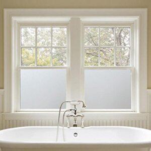 Sandblæst Folie til badeværelse vindue