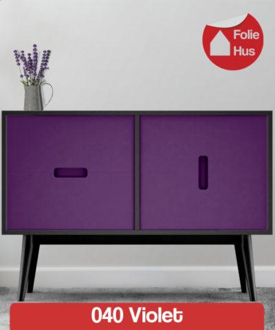 040 Violet folie til skabslåger