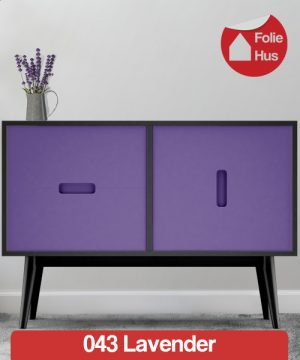 043 Lavender folie til skabslåger