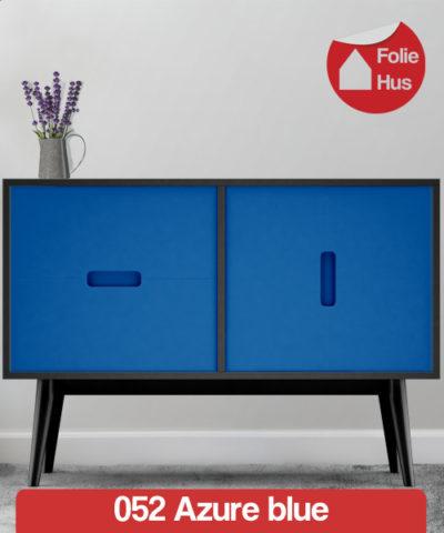 052 Azure blue folie til skabslåger
