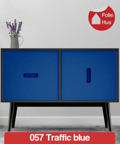 057 Traffic blue folie til skabslåger