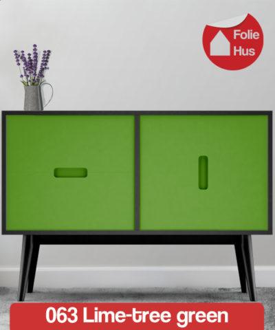 063 Lime tree green folie til skabslåger