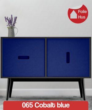 065 Cobalt blue folie til skabslåger