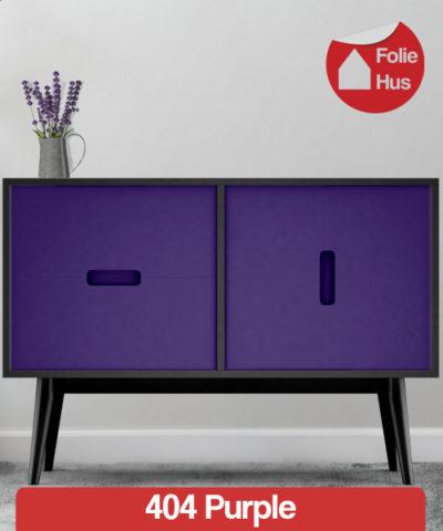 404 Purple folie til skabslåger