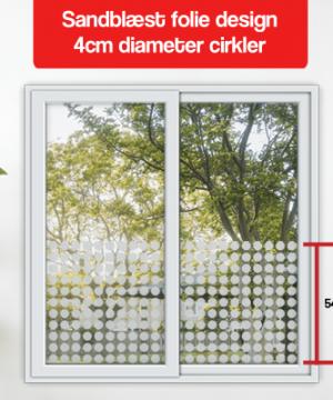 matteret design 4cm diameter cirkler